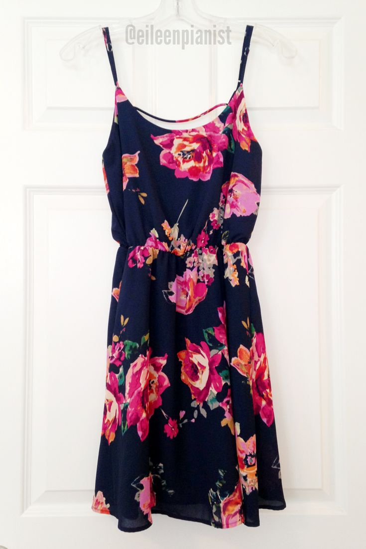 Stitch Fix Everly Katilina Floral Dress $64 in navy https://www.stitchfix.com/referral/5363181