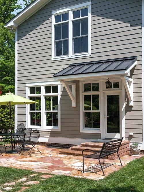 Best 25+ Metal awning ideas on Pinterest   Green shutters ...