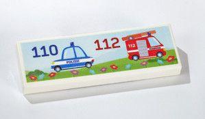 Kühlschrankmagnet mit Notrufnummern