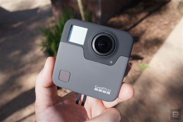This is the GoPro Fusion: the company's all-in-one VR camera