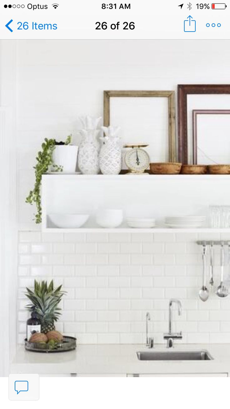 40 best byron beach abodes images on pinterest the cottage cottage kitchens white kitchens shelf display kitchen shelves the cottage how to style dish beach house soap