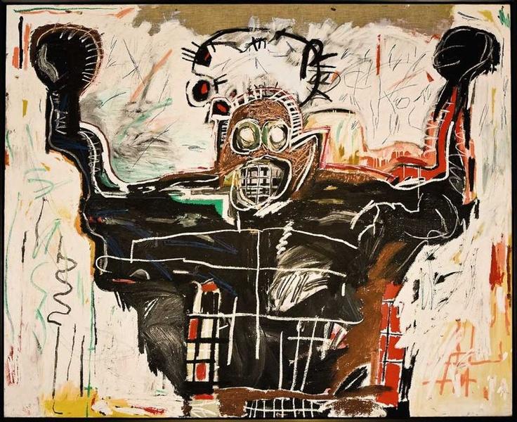 Jean-Michel Basquiat (1960-1988), Untitled (Boxer)