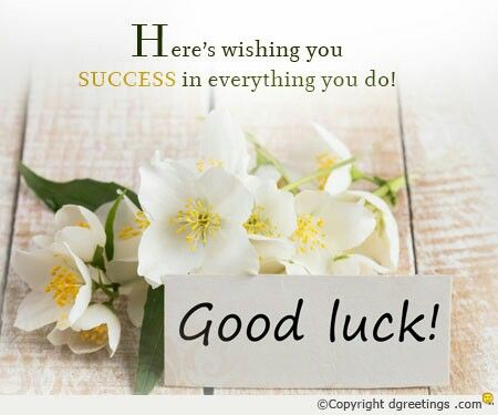 10 best Good Luck Card images on Pinterest Best of luck wishes - best wishes for exams cards
