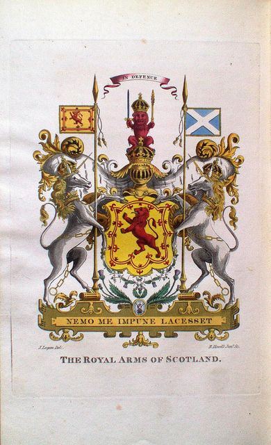 The Royal Arms of Scotland.