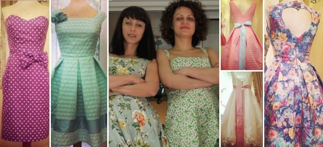 Lazy D: 2 Ikariotisses design the most beautiful retro dresses in Greece | ikariamag.gr