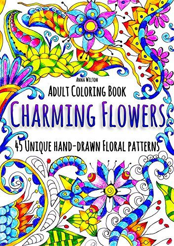 Charming Flowers 45 Unique Hand Drawn Floral Patterns By