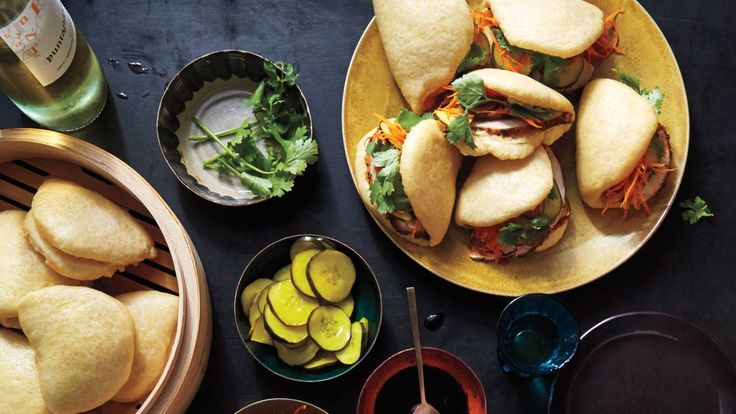For this recipe, the pillowy steamed buns are delicious in all the same ways as Parker House rolls, with the sweet flavor of cornmeal.