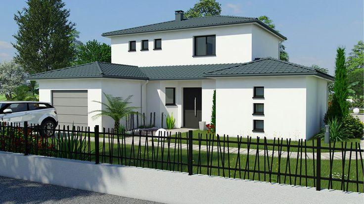 mod le maeva maisons bati sud house plan 39 s maison construction maison plan maison. Black Bedroom Furniture Sets. Home Design Ideas