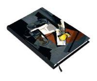 Llibreta a ratlles amb una natura morta del pintor cubista Juan Gris