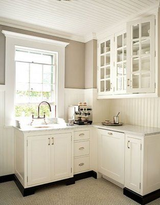 wainscoting kitchen backsplash online image