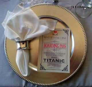 This lady recreated the last meal for the `st course people on the Titanic. Amazing how much time people put into making meals in Edwardian time!