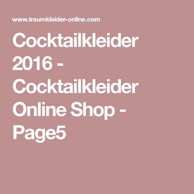Cocktailkleider 2016 - Cocktailkleider Online Shop - Page5