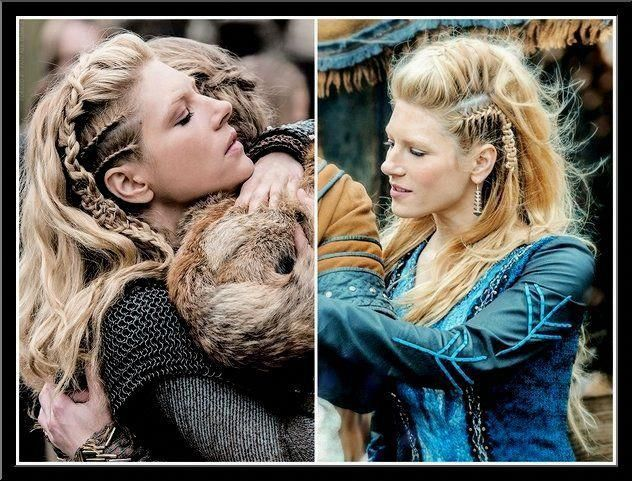Frisuren Vikings Fallhairstyles Viking Hair Lagertha Hair Viking Braids