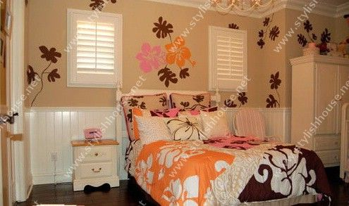 Stylishly wall stickers drawings for bedroom ~ Stylishly Home