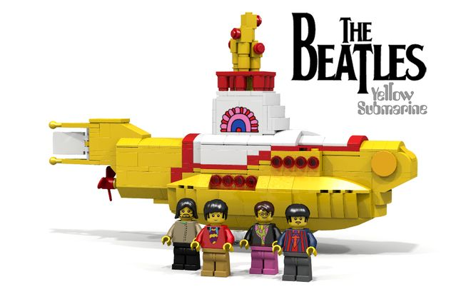 The Beatles' Yellow Submarine LEGO Idea Becomes Reality