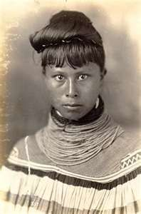 Seminole Indian Woman - Seminole are a Native American people originally of Florida, who now reside primarily there and in Oklahoma.