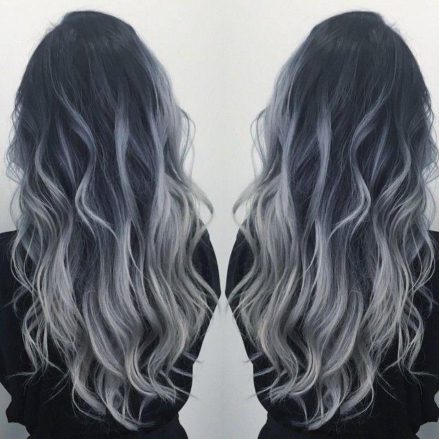 Smoky Ash Blonde with mermaid waves by Diana Shin. HOT Beauty Magazine facebook.com/hotbeautymagazine #hotonbeauty
