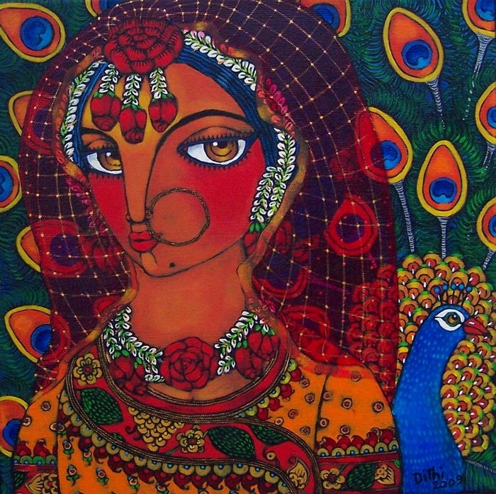 Who looks out with my eyes? What is the soul? I cannot stop asking. ~Rumi painting - artist - Dithi