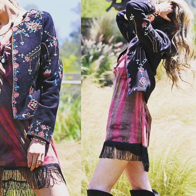 chaqueta #embellishments #inspiration #embroidery #must have #fashion #trends #special #embroidery