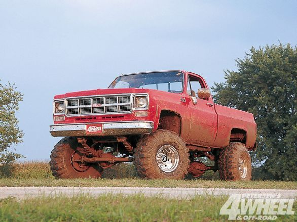 Check out Melissa Smith's and Mike Brown's 1980 GMC High Sierra pickup, which was restored with mostly GM parts, a Skyjacker lift kit and 39-inch Super Swamper tires.  See this Killer Tomato in this month's 4-Wheel & Off-Road Magazine!