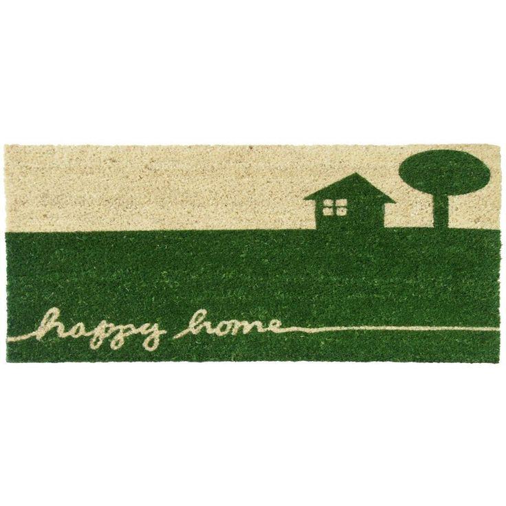 Rubber-Cal Happy Home Country Doormat