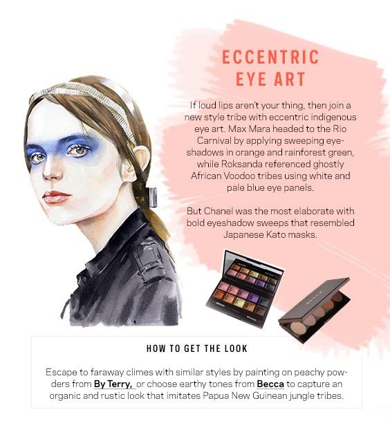 How to create Chanel eye make up 2016