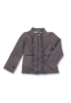 Peekaboo Beans - Fantasy Jacket - Styled after the popular vintage style, the Lap of Luxury, this jacket features sweet ruffle details to add a touch of girly-ness to the soft, comfortable jacket. Available in 2 colours, sizes 2-7