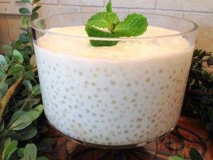 Coconut Tapioca Pudding - Italian Recipes | Paleo Recipes | Award Winning Recipes