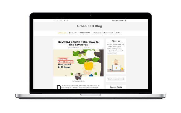 Urban A Seo Web Design Wordpress Web Design Wordpress Modern Blog