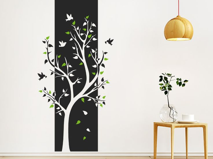 12 besten wandtattoo baum bilder auf pinterest wandtattoo baum baum wandtattoo und kostenlos. Black Bedroom Furniture Sets. Home Design Ideas
