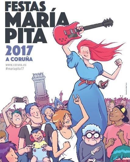 3, 2, 1... #MaríaPita17 se acerca. ¿Estáis preparados para 'As noites de María Pita'? ♪ ♫ ♪ ♫ » http://bit.ly/MaríaPita17 #Fiestas #ACoruña
