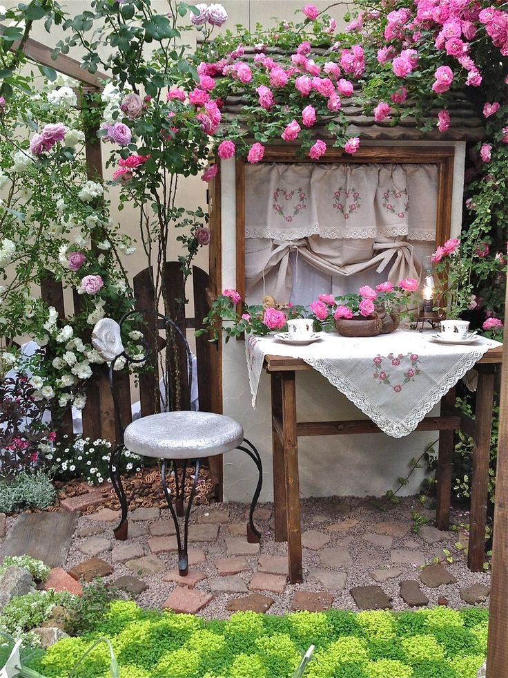 Pin By Patty Vogl On The Rose Cottage Pinterest Patios