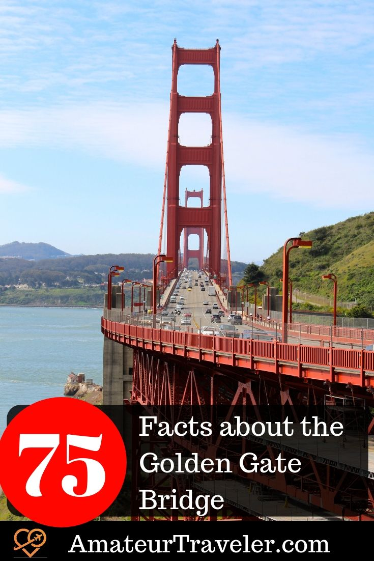 75 Facts About The Golden Gate Bridge Including Parking Tips Golden Gate Bridge Golden Gate Travel Usa