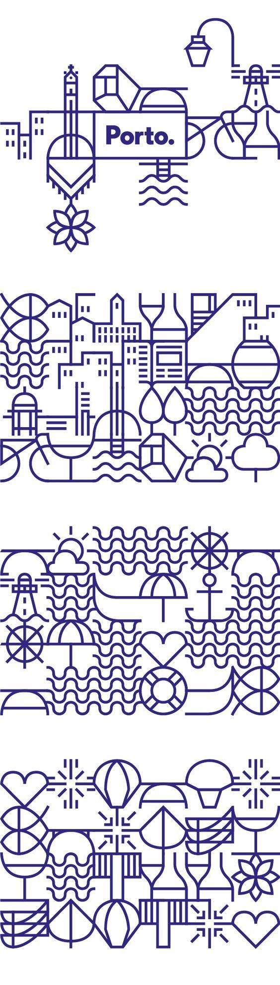 Le studio portugais White réalise la nouvelle identité pour la ville de Porto.Le défi présenté était très clair : la ville avait besoin d'un système visuel, une identité visuelle qui...: