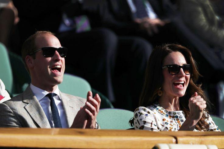 The Duke & Duchess at Wimbledon 2016