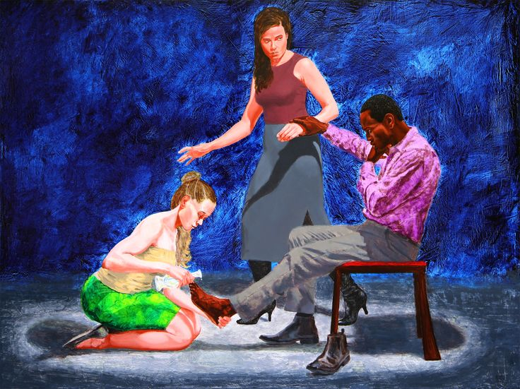 'You will not always have me', 2015, Kimathi Donkor