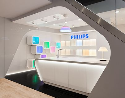 """Check out new work on my @Behance portfolio: """"Philips Lighting Showroom"""" http://be.net/gallery/36848183/Philips-Lighting-Showroom"""