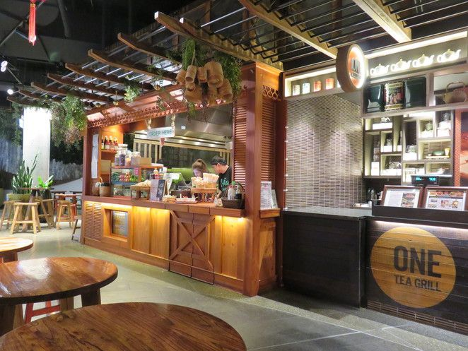 Hawker Lane Chatswood Sydney Asian Dinner Lunch Noodles Dumplings Restaurant Interior Design Bar Design Restaurant Food Court Design
