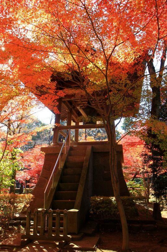 The bell at Heirin-ji (平林寺), Saitama