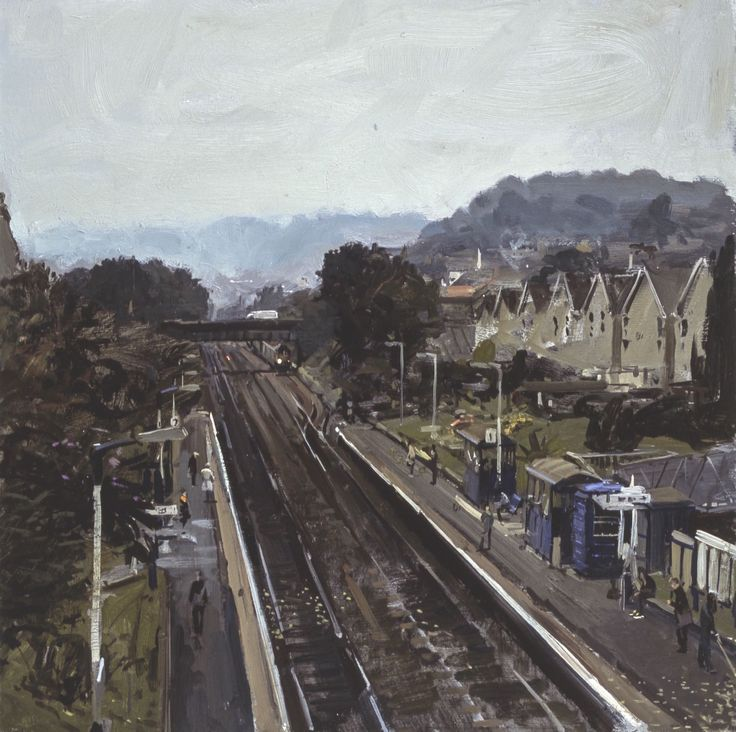 Peter Brown - Oldfield Park Station, 2013