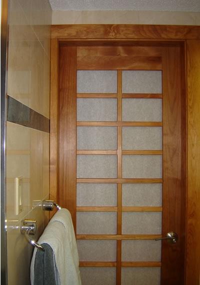 shoji style bathroom door iu0027d like to create as a slider