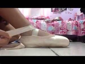 Pesquisa Como amarrar sapatilhas de ponta. Vistas 14297.
