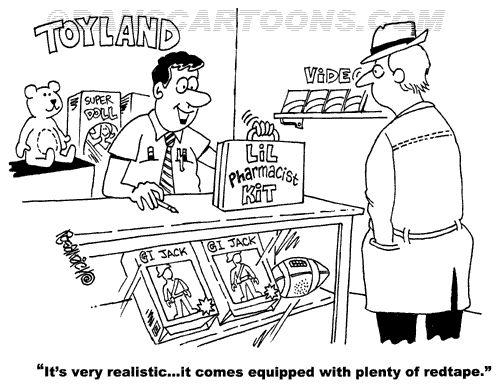 Pharmacy Pharmaceutical Cartoon 22 a Cartoon Image and