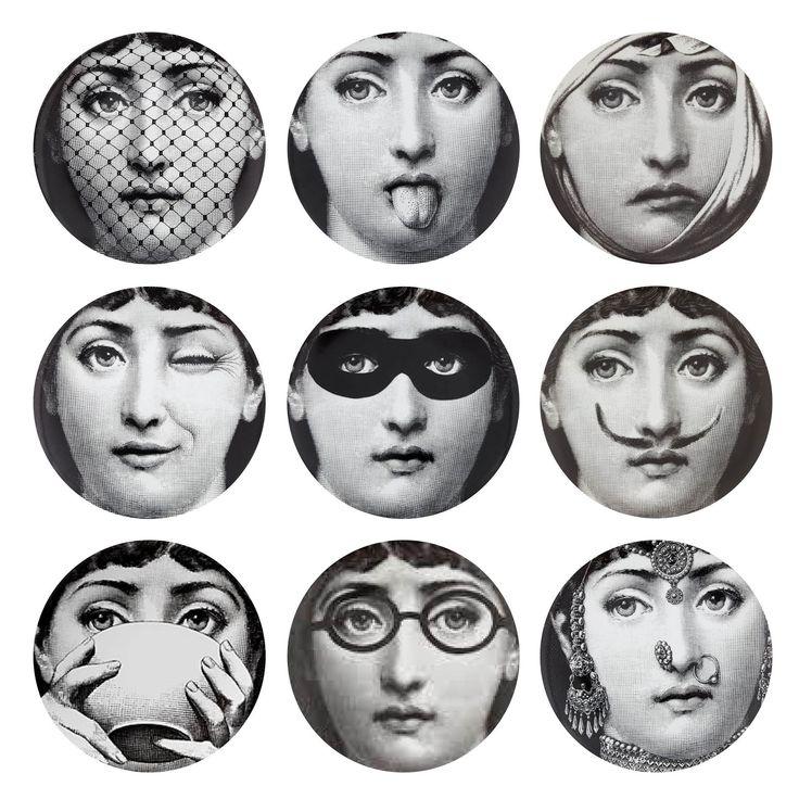 Best Piero Fornasetti Images On Pinterest Ceramic Pottery - Piero fornasetti wallpaper designs