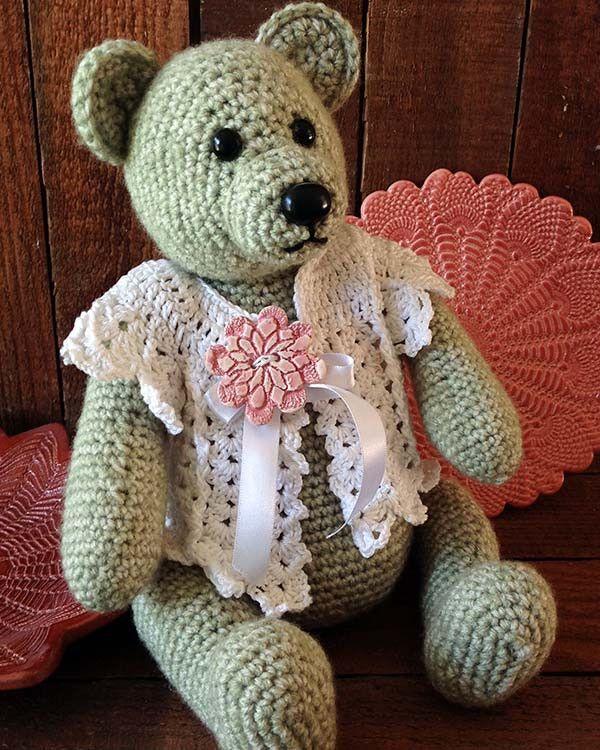 Sadie Bear Crochet Pattern
