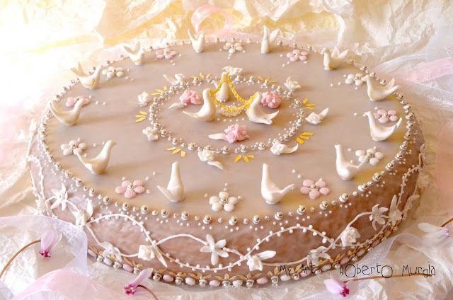 TRUTA A MAZZ'E MENDULA - Torta di mandorle Sarda
