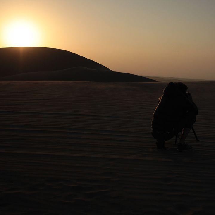 Beautiful sunset in our photo shoot location. Feel the energy! #Peru #Desert #Leonisa // Hermoso atardecer en nuestra producción  fotográfica  en Perú.
