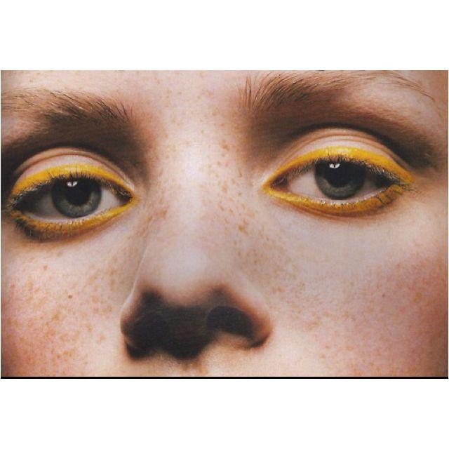 Yellow Eyeliner?! NEED IT