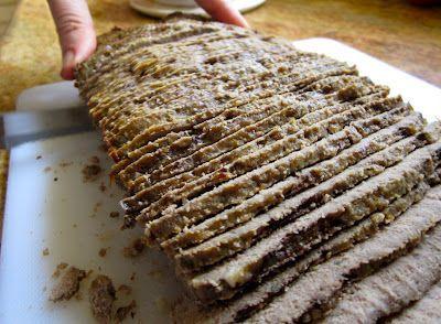 Greek Gyros meat 1 medium size onion, roughly chopped 1 lb ground beef  1 lb ground lamb   1 tbsp finely minced garlic 1 tbsp dried marjoram 1 tbsp dried ground rosemary 2 tsp Kosher salt 1/2 tsp ground black pepper