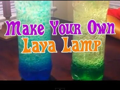DIY Lava Lamp - DIY Projects for Teens